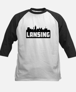 Lansing Michigan Skyline Baseball Jersey
