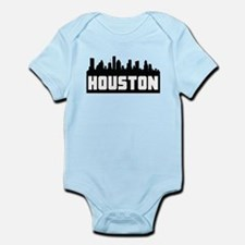Houston Texas Skyline Body Suit