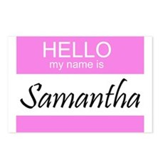 Samantha Postcards (Package of 8)