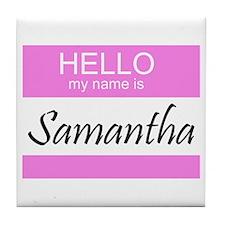 Samantha Tile Coaster