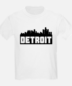 Detroit Michigan Skyline T-Shirt