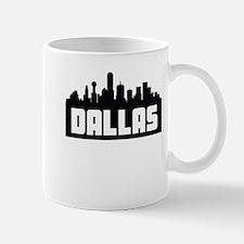 Dallas Texas Skyline Mugs