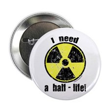 "Cute Mad scientist 2.25"" Button"