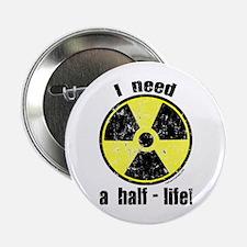 "Cute Radioactive 2.25"" Button"