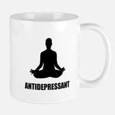 Antidepressant Yoga Mugs