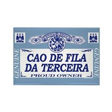 CAO DE FILA DA TERCEIRA Rectangle Magnet