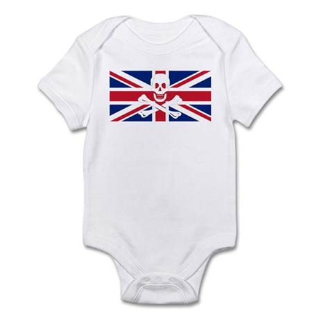 British Priate Infant Bodysuit
