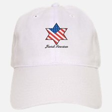 Jewish American Star Baseball Baseball Cap