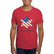 Jewish American Star T-Shirt