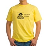 Weak in the Bookstore Yellow T-Shirt