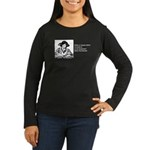 Weak in the Bookstore Women's Long Sleeve Dark T-S