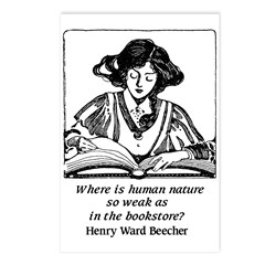 Weak in the Bookstore Postcards (Package of 8)