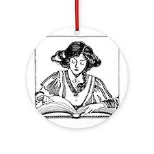 Weak in the Bookstore Ornament (Round)