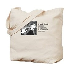 Books, Enjoy or Endure Tote Bag