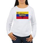 Venezuela Flag Extra Women's Long Sleeve T-Shirt