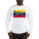 Venezuela Flag Extra Long Sleeve T-Shirt