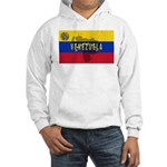 Venezuela Flag Extra Hooded Sweatshirt