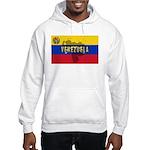 Venezuela Flag Extra Hooded Sweatshirt