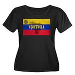 Venezuela Flag Extra Women's Plus Size Scoop Neck