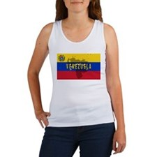 Venezuela Flag Extra Women's Tank Top