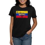 Venezuela Flag Extra Women's Dark T-Shirt