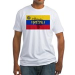 Venezuela Flag Extra Fitted T-Shirt