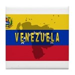 Venezuela Flag Extra Tile Coaster
