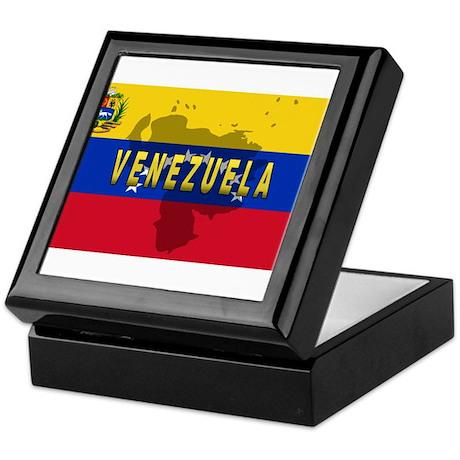 Venezuela Flag Extra Keepsake Box