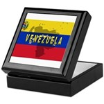 Venezuela Flag Extra Keepsake Box