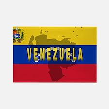 Venezuela Flag Extra Rectangle Magnet