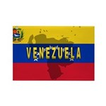 Venezuela Flag Extra Rectangle Magnet (100 pack)