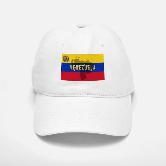 Venezuela Flag Extra Baseball Baseball Cap