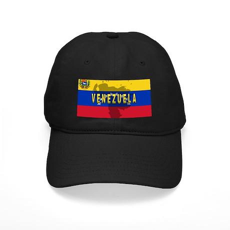 Venezuela Flag Extra Black Cap