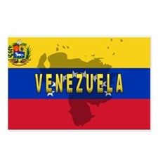 Venezuela Flag Extra Postcards (Package of 8)