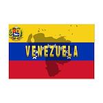 Venezuela Flag Extra Mini Poster Print