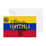 Venezuela Flag Extra Greeting Cards (Pk of 10)