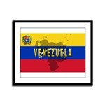 Venezuela Flag Extra Framed Panel Print