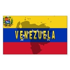Venezuela Flag Extra Rectangle Decal