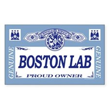 BOSTON LAB Rectangle Decal