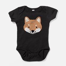Unique Shiba Baby Bodysuit