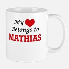 My heart belongs to Mathias Mugs
