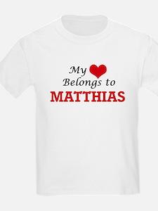 My heart belongs to Matthias T-Shirt