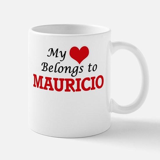My heart belongs to Mauricio Mugs