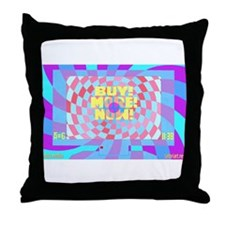 Mass Media #1 Throw Pillow