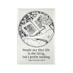 Prefer Reading Rectangle Magnet (10 pack)