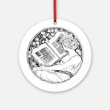 Prefer Reading Ornament (Round)