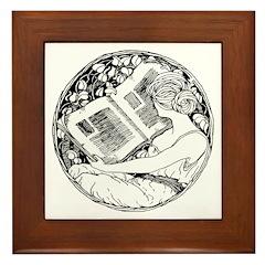 Prefer Reading Framed Tile