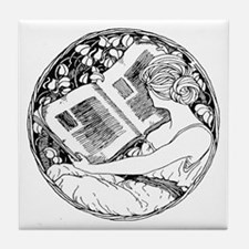 Prefer Reading Tile Coaster