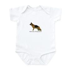 German Shepherd Infant Bodysuit