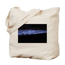 DEEP BLUE SUNSET IN THE MARA Tote Bag